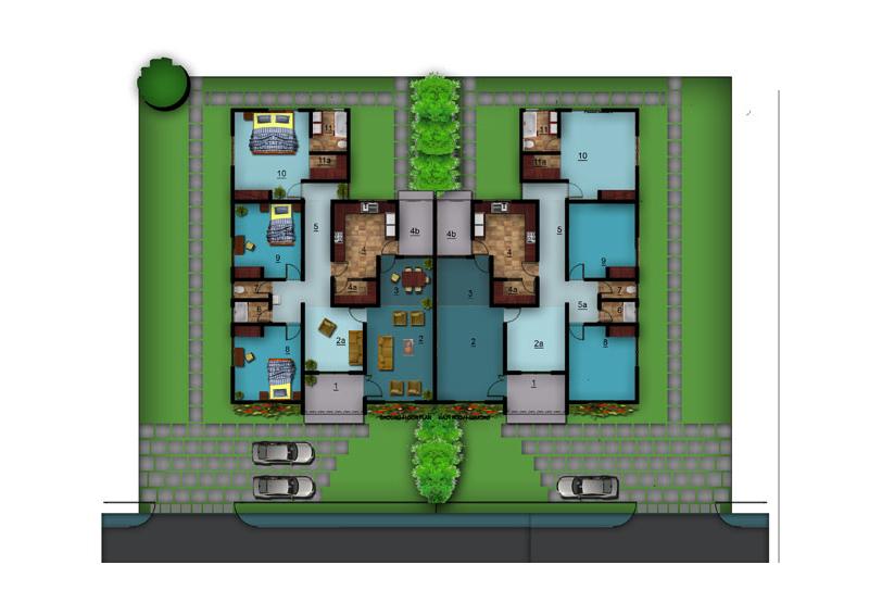 Deligreen devtraco villas for Apartment plans in ghana