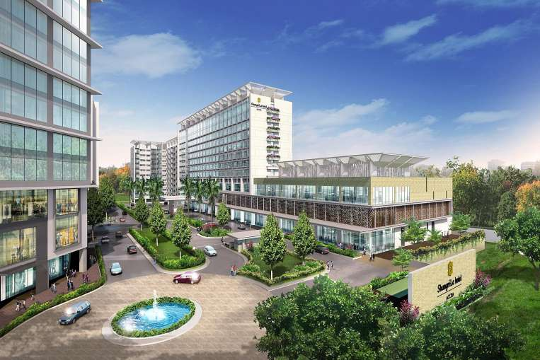 he development in Accra will comprise a hotel, residential towers, an office tower, a shopping mall and serviced apartments.PHOTO: PERENNIAL REAL ESTATE