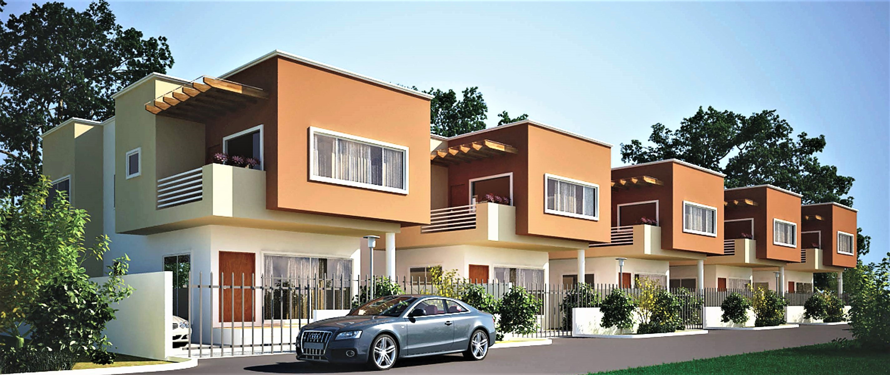 Premier homes 3 bedrooms townhouse abelemkpe for 3 bedroom townhomes