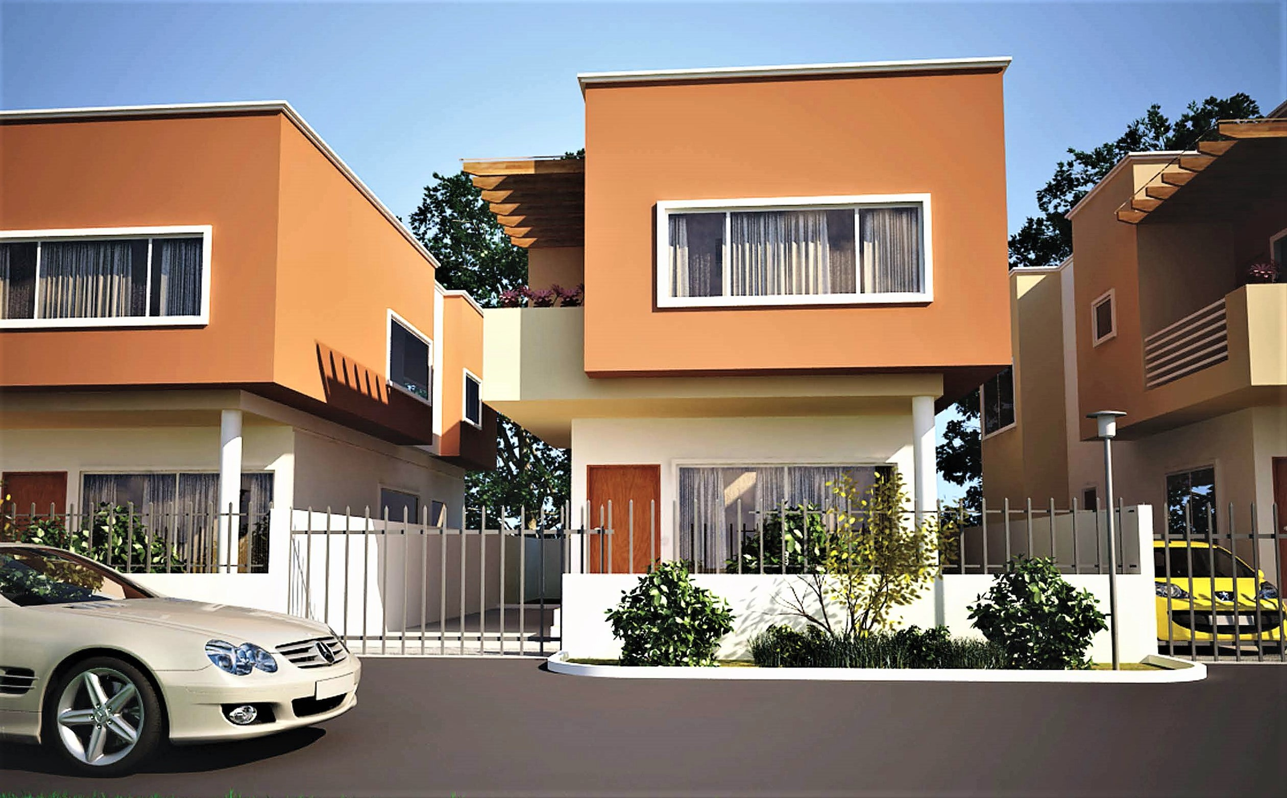 Premier Homes 3 Bedrooms Townhouse, Abelemkpe |