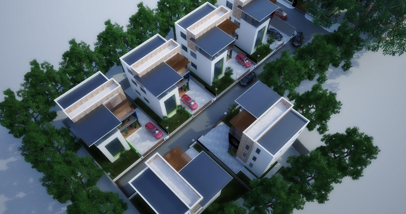 Lindsay Park Achimota Golf Drive Ghana Real Estate